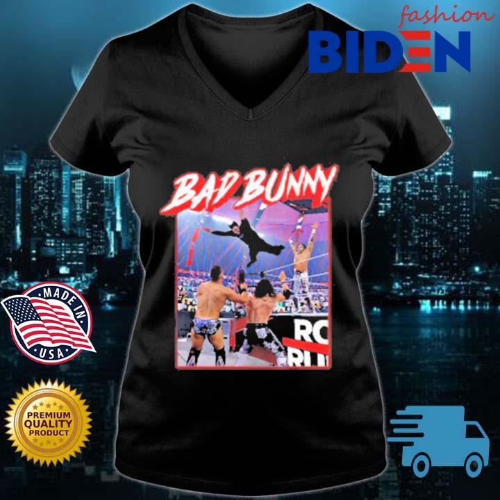 Bad Bunny Wrestling EUTDM Shirt Bad Bunny Shirt BB Wrestling Tee BB Shirt Bad Bunny WrestleMania shirt Wrestle Mania 37 shirt