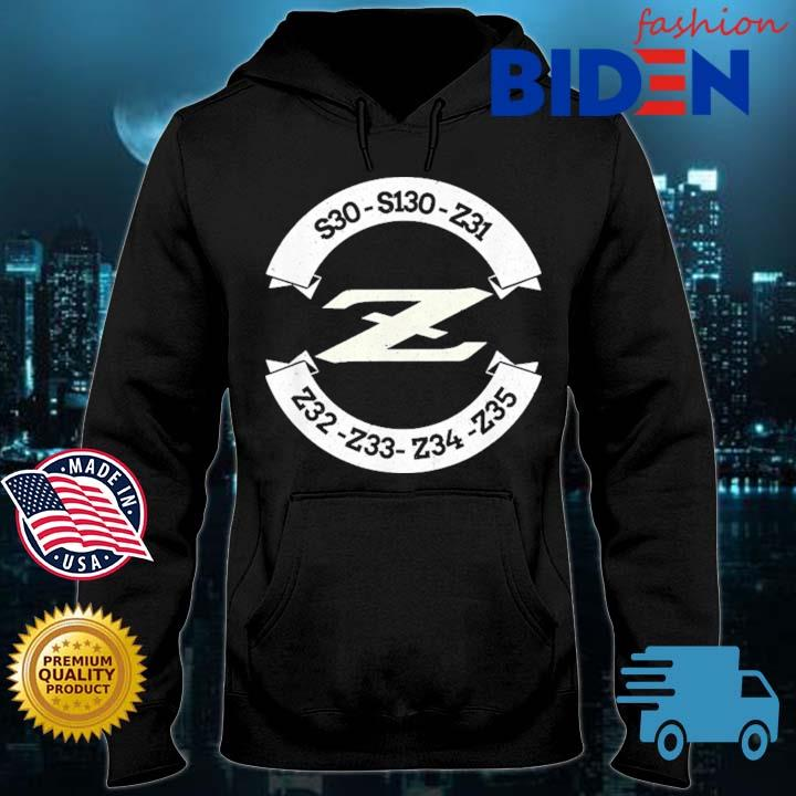 Heritage Z Classic JDM Car Badge Shirt Bidenfashion hoodie den