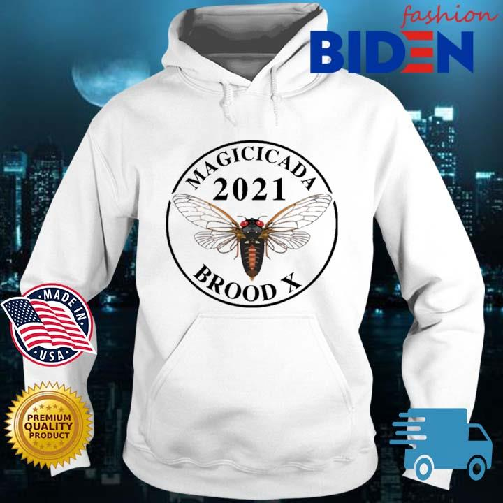 Magicicada 2021 brood X Shirt Bidenfashion hoodie trang