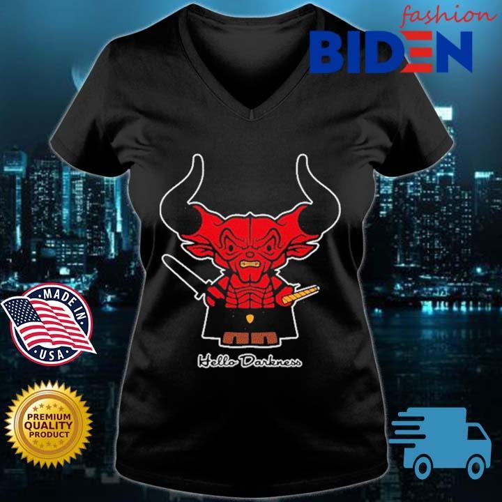 Satan Hello Darkness Shirt Bidenfashion ladies den