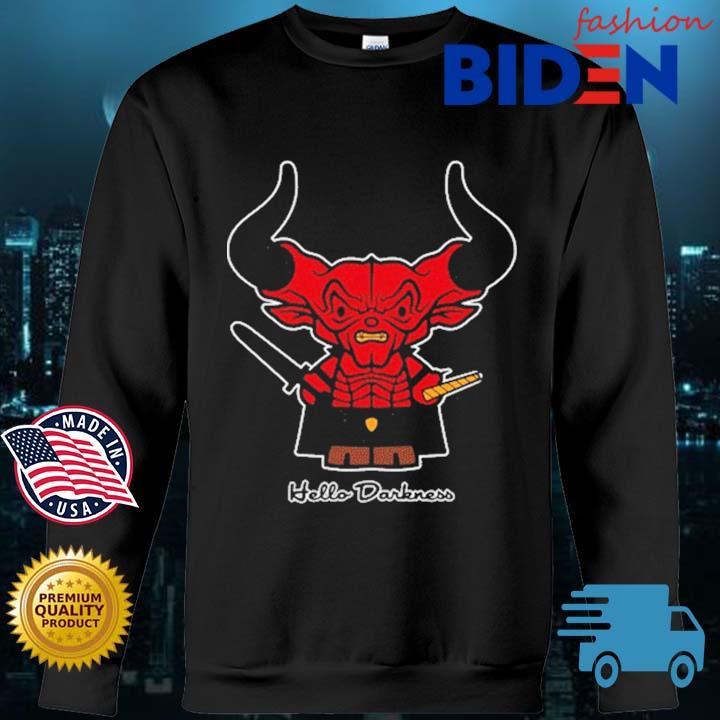 Satan Hello Darkness Shirt Bidenfashion sweater den