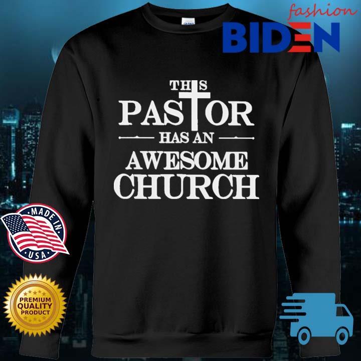 This pastor has an awesome church Bidenfashion sweater den