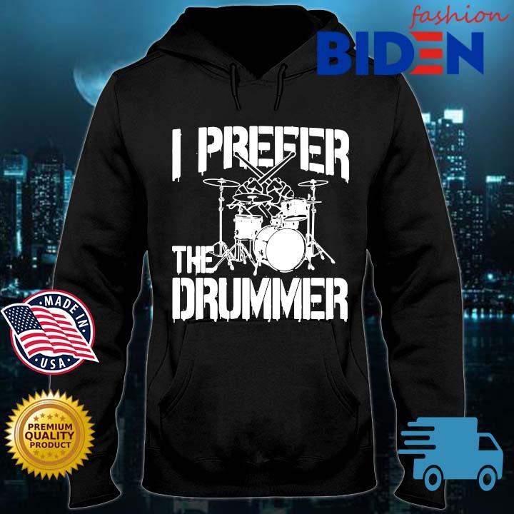 I prefer the drummer Bidenfashion hoodie den