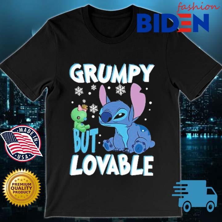 Stitch grumpy but lovable shirt